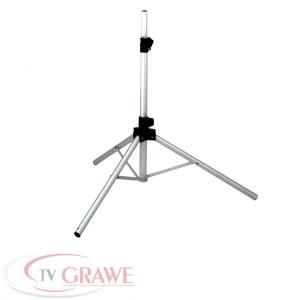 Dreibein Stativ - sehr standfest für SAT Antenne Schüssel Camping Balkon Ständer