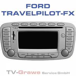 Ford Navigation Travelpilot FX Bosch Blaupunkt für Ford Focus II