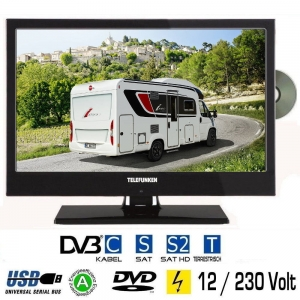 telefunken l19h130x led fernseher 19 zoll tv grawe tv. Black Bedroom Furniture Sets. Home Design Ideas