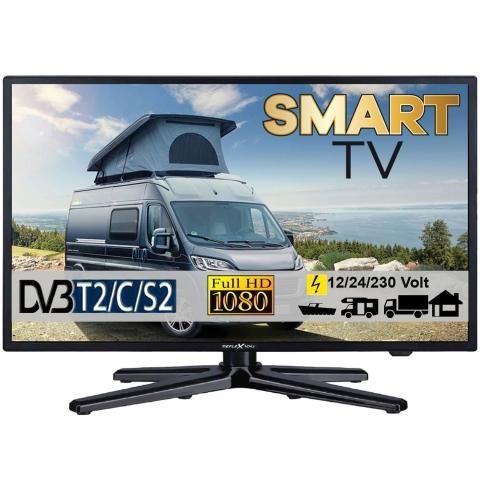 Reflexion LEDW22i LED Smart TV mit DVB-S2 /C/T2 für 12V u. 230Volt WLAN Full HD