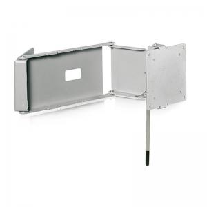 Caratec Flex CFW300 TV-Wandhalter mit drei Drehpunkten Farbe: Silber