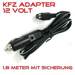 KFZ-Adapter 12V DC Zigarettenanzünder-Kabel f. LED Fernseher mit 4-PIN Stecker