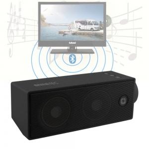SoundBoost Bluetooth Bass Lautsprecher AUX Schwarz