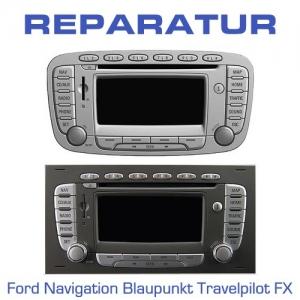 Reparatur Ford Navigation Blaupunkt Travelpilot FX defekt ? ... wir reparieren