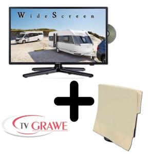 Gelhard GTV2282PVR LED 22 Zoll Wide Screen TV DVD mit Monitorhülle