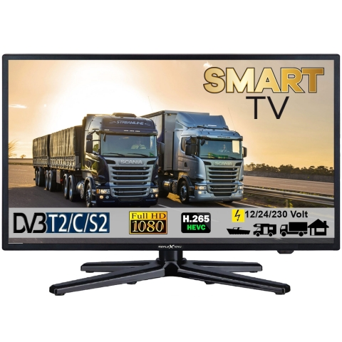 Reflexion LEDW22i LED Smart TV mit DVB-S2 /C/T2 für 12/24V u. 230Volt WLAN Full HD