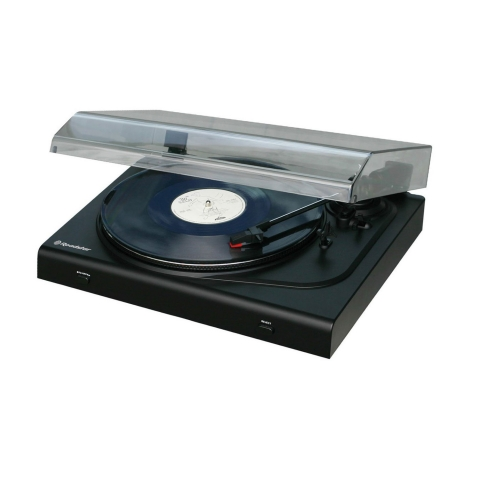 Roadstar Halbautomatischer Plattenspieler mit USB- Encoding via PC
