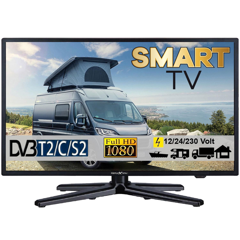 reflexion ledw22 led fernseher tv mit dvb s2 c t2 f r 12v. Black Bedroom Furniture Sets. Home Design Ideas