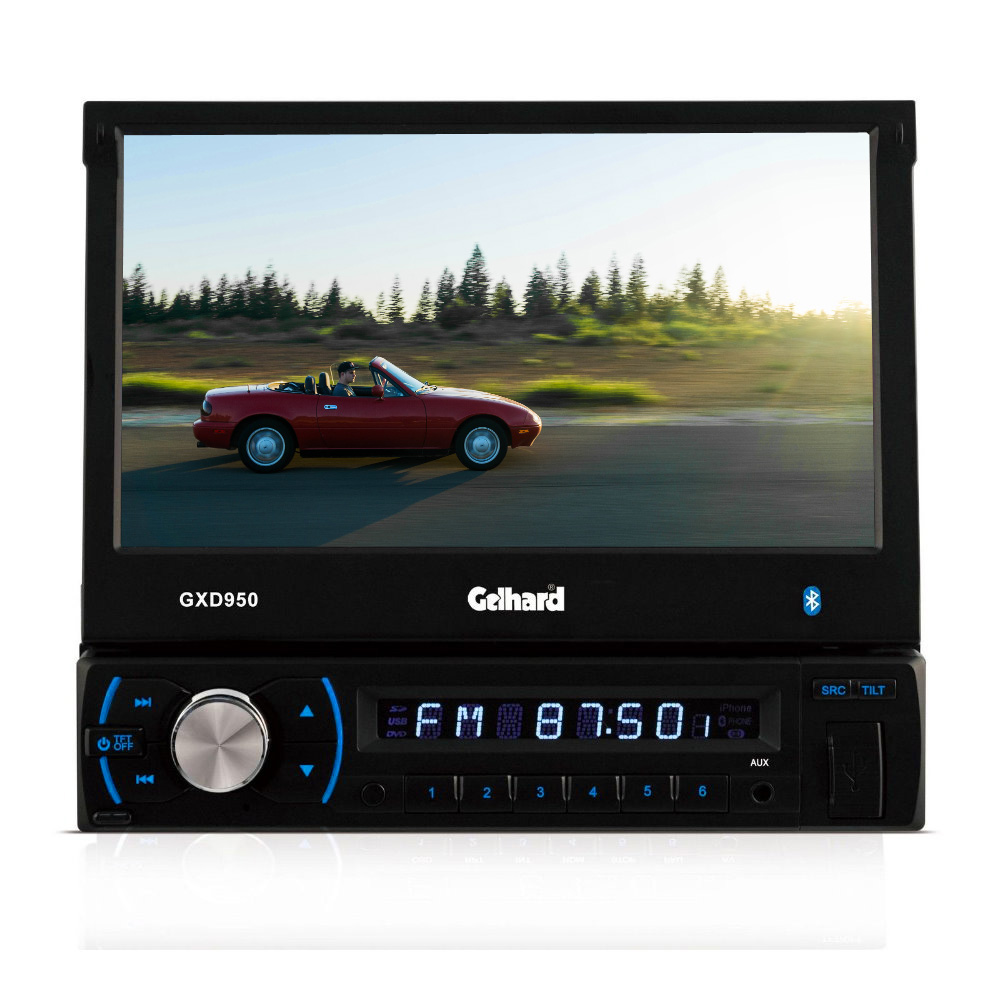 gelhard gxd950 rds autoradio mit 17 8 cm lcd tft monitor. Black Bedroom Furniture Sets. Home Design Ideas