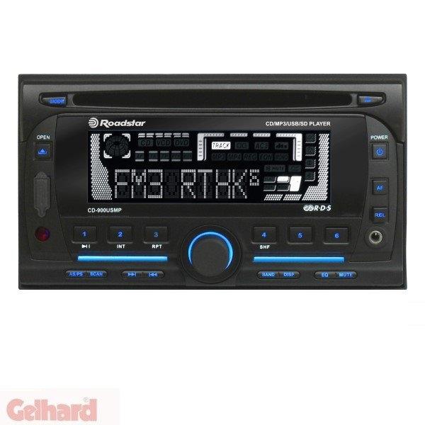 roadstar cd 900usmp autoradio tv grawe tv fernseher. Black Bedroom Furniture Sets. Home Design Ideas