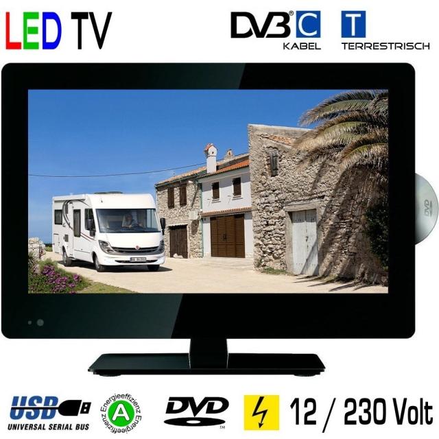 led tv backlight kabel dvd 15 6 zoll 39 6cm tv grawe. Black Bedroom Furniture Sets. Home Design Ideas