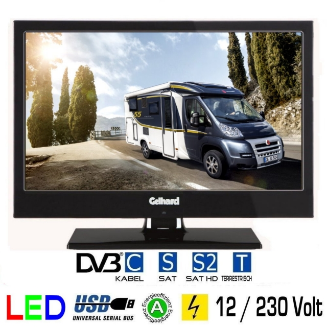 tv bis 19 zoll 48cm tv grawe tv fernseher mit 12 24. Black Bedroom Furniture Sets. Home Design Ideas