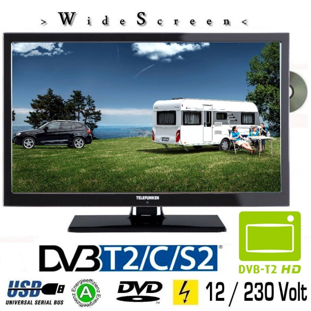 orion clb22w260s led fernseher 22 zoll full hd dvd tv. Black Bedroom Furniture Sets. Home Design Ideas