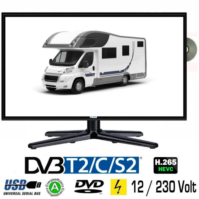 tv bis 22 zoll 55cm tv grawe tv fernseher mit 12 24. Black Bedroom Furniture Sets. Home Design Ideas