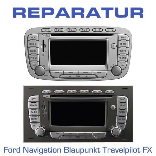 reparatur ford navigation blaupunkt travelpilot fx tv. Black Bedroom Furniture Sets. Home Design Ideas