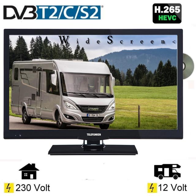 """Telefunken T22X740MOBIL LED Fernseher 22"""" Zoll - TV-Grawe"""