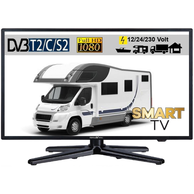 gelhard gtv 1955 led tv fernseher 19zoll 47cm tv grawe. Black Bedroom Furniture Sets. Home Design Ideas
