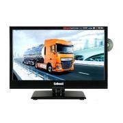 Gelhard GTV-1682 LED-TV 15,6 Zoll Fernseher DVD DVB-S2-T2-C Full HD 12V/24V/230V