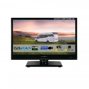Reflexion LEDW160 LED-TV 15,6 Zoll 39,6 cm Fernseher DVB-S2 -C -T2 12/230 Volt