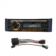 AUTORADIO Gelhard GXR550 mit UKW/RDS + CD/MP3 + USB + SD + Bluetooth kompatibel mit Smart for two