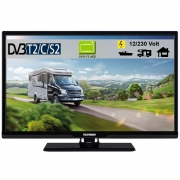 Telefunken L24H27K4V MOBIL LED Fernseher 24 Zoll DVB/S/S2/T2/C 12/230 Volt