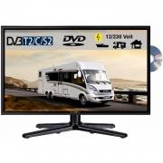 Reflexion LDDW240 LED Fernseher 23.6 Zoll TV DVB-S2 / C /T2 DVD, 12Volt 230 Volt