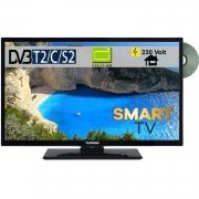 Telefunken D39F502N4CW Smart-TV mit DVD- Player 39 Zoll 98cm DVB-S2/C/T2 230Volt