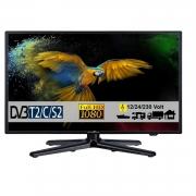 Reflexion LEDW24N LED Fernseher TV 23.6 Zoll mit DVB-S2 /C/T2 12Volt 230 Volt