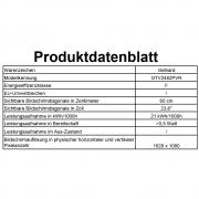 Gelhard GTV2482PVR LED 24 Zoll Wide Screen TV DVD mit Monitorhülle