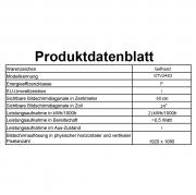 Gelhard GTV-2482 LED 24 Zoll Wide Screen TV DVD DVB/S/S2/T2/C 12/24/230 Volt LKW