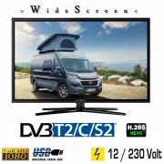 Reflexion LEDW22 LED Fernseher TV mit DVB-S2 /C/T2 für 12V u. 230Volt