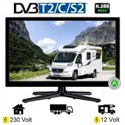 Reflexion LEDW19 LED Fernseher TV 18,5 Zoll 47cm DVB-S2/C/T2 USB VGA 12/230Volt