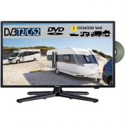 Gelhard GTV-2282 LED 22 Zoll Wide Screen TV DVD DVB/S/S2/T2/C 12/24/230 Volt