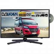 Reflexion LDDW220 LED Fernseher 22 Zoll 56cm SAT TV DVB-S2/C/T2 DVD 12/230 Volt