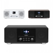 Reflexion Internet/DAB+/DAB/UKW-Radio mit Bluetooth, MP3/CD,AUX-IN