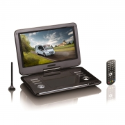 Portabler 12 LCD-Bildschirm mit DVD-Player und DVB-T2 HD Tuner von Reflexion