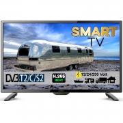 Reflexion LEDW28i LED Smart TV mit DVB-S2 /C/T2 für 12V u. 230Volt WLAN