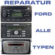 Ford Autoradio Reparatur alle Typen CD 6000 4500 6006 ...