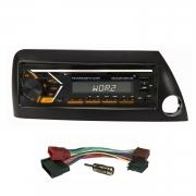 AUTORADIO mit USB SD MP3 Bluetooth UKW RDS kompatibel mit Ford KA 1996>2008 / Blende schwarz