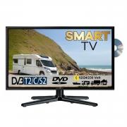 Reflexion LDDW24i LED Smart TV mit DVD & DVB-S2 /C/T2 für 12V u. 230Volt WLAN Full HD