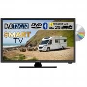 Reflexion LDDW24i+ LED Smart TV mit Bluetooth DVD & DVB-S2 /C/T2 für 12V u. 230Volt WLAN Full HD