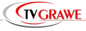 TV-Grawe - TV Fernseher mit 12/24 Volt Anschluss für Wohnmobil, Caravan, LKW und Boot